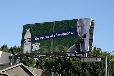 Svedka Vodka of Champions billboard