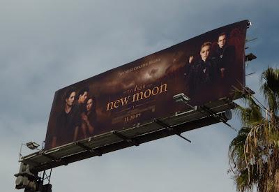 Twilight New Moon movie billboard
