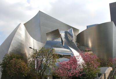 Walt Disney Concert Hall blossom