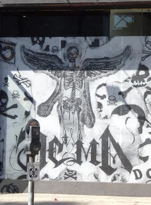DCMA death skeleton angel
