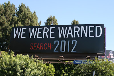 2012 We Were Warned teaser billboard