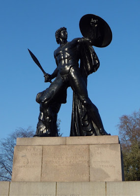 Achilles statue Wellington Monument Hyde Park