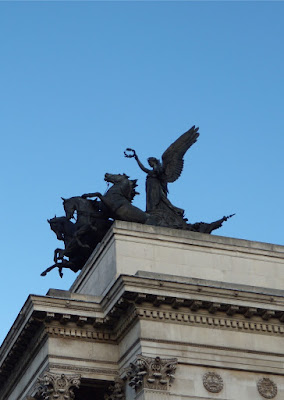 Angel of Peace statue at Hyde Park Corner