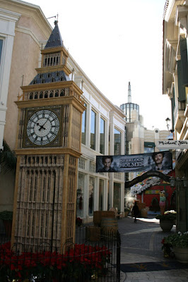 Sherlock Holmes Big Ben at The Grove
