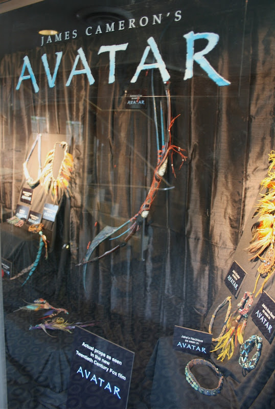 Actual Avatar movie props