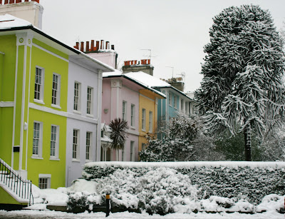 Chiswick in snow Feb 09