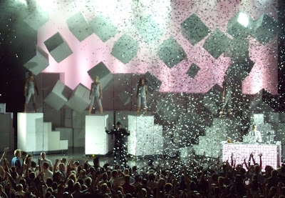 Pet Shop Boys Greek Theatre concert finale 09