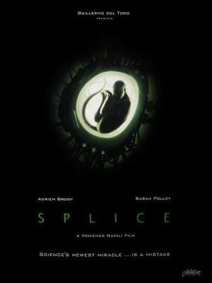 Splice teaser movie poster