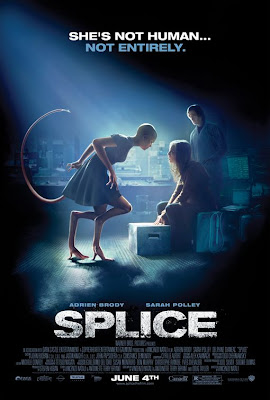 Splice not human, not entirely film poster