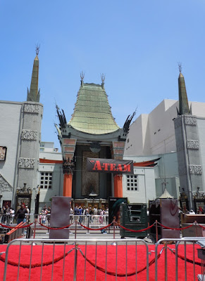 A-Team movie premiere at Grauman's Chinese Theatre