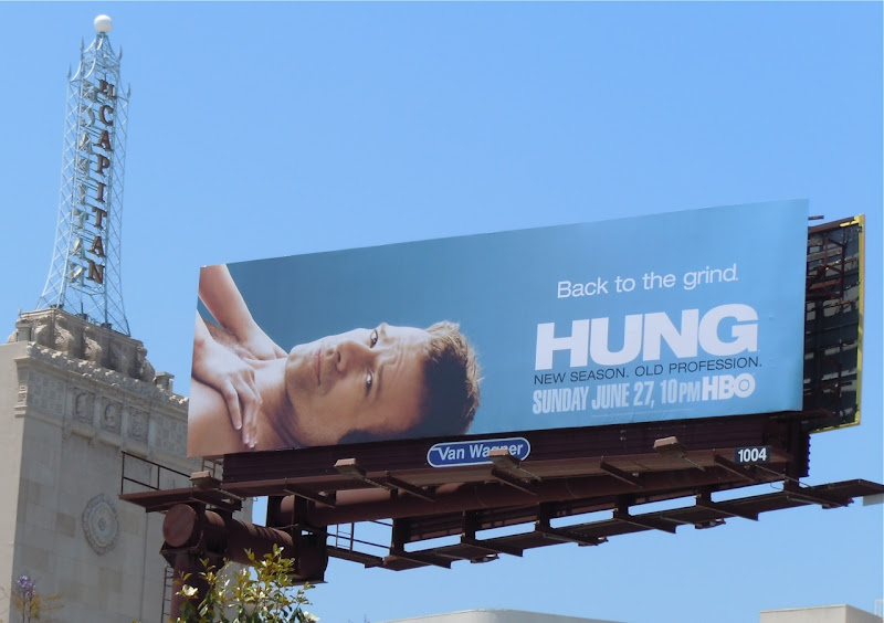 Thomas Jane Hung season 2 TV billboard