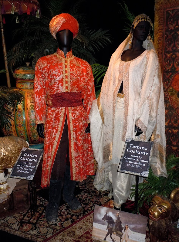 Prince of Persia Dastan and Tamina movie costumes