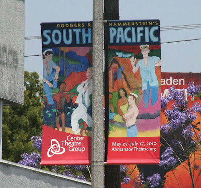 South Pacific Musical banner