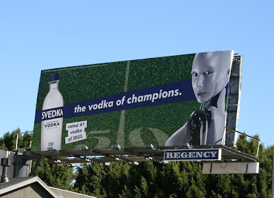 Svedka Vodka of Champions billboard