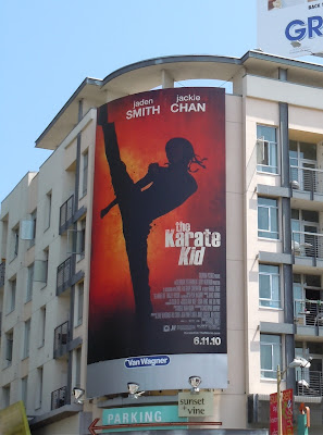 The Karate Kid billboard