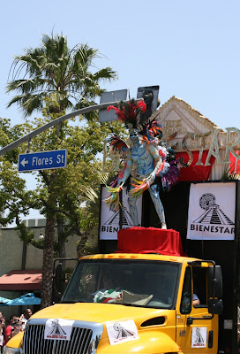 Aztec god LA Gay Pride 2010