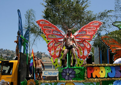 Bienestar butterfly West Hollywood Pride 2010