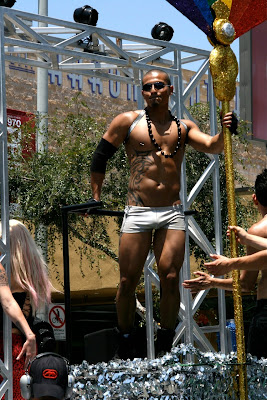 Buff dancer West Hollywood Pride 2010