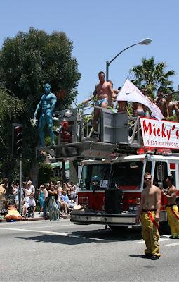 Micky's fire truck LA Pride 2010