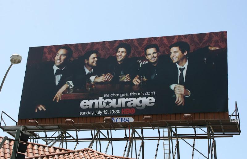 Entourage season 6 TV billboard