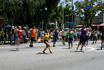 OC Dancers West Hollywood Pride 2010
