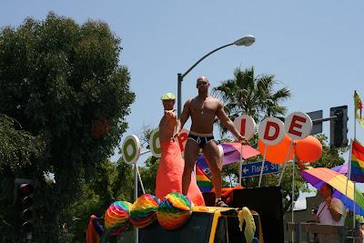 OC Pride Parade guys LA 2010