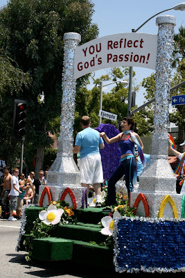 God's Passion float West Hollywood Pride 2010