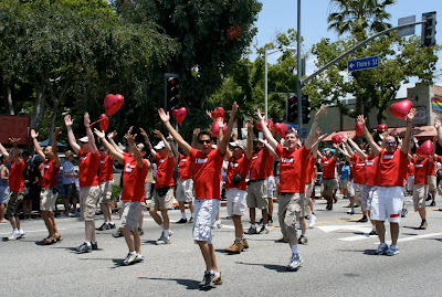 Gay Men's Chorus sing LA Pride 2010