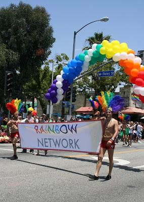 Rainbow Network WEHO Pride 2010
