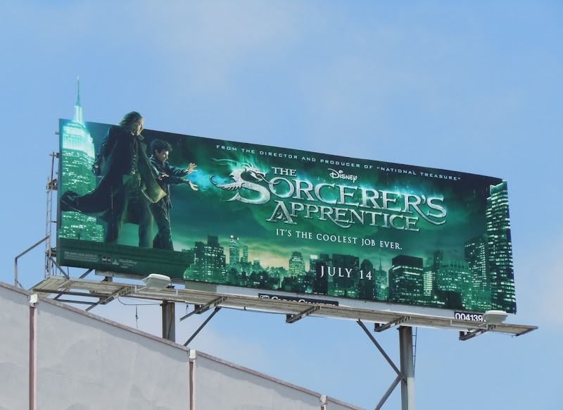 Disney Sorcerers Apprentice billboard