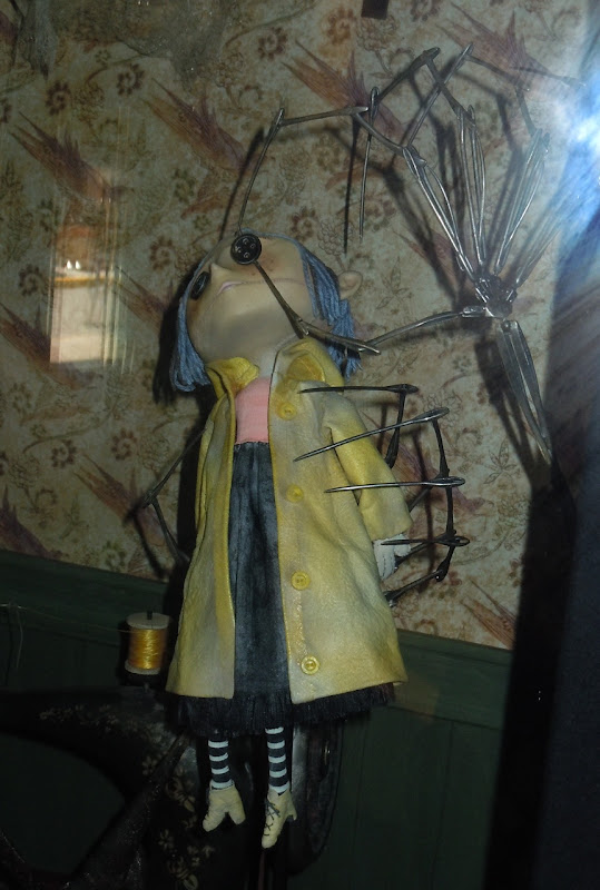 Coraline animation puppet