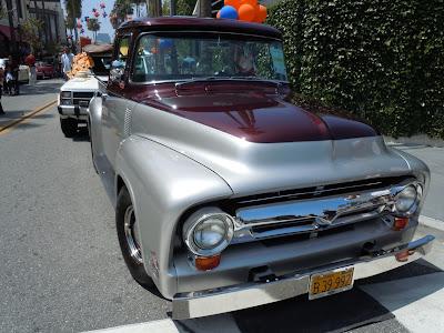 1956 Ford F-100 Gilmore Auto Show
