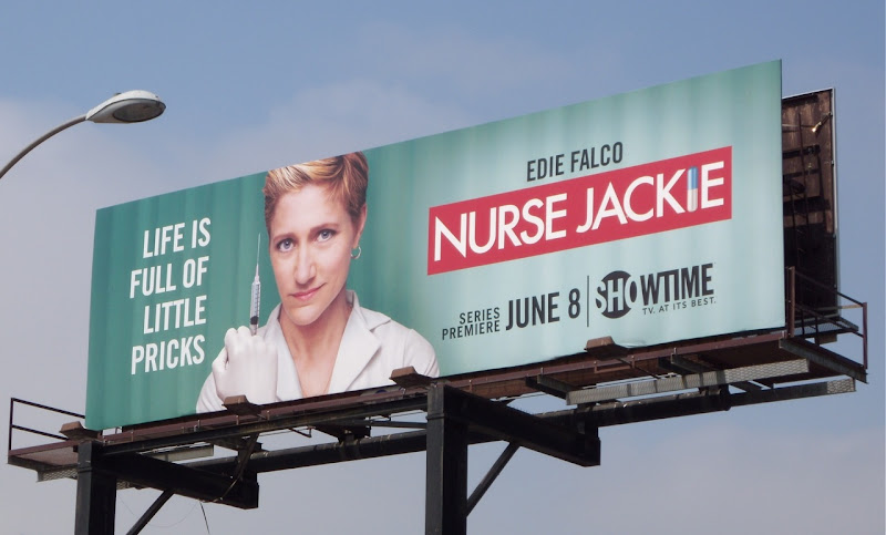 Nurse Jackie season 1 TV billboard