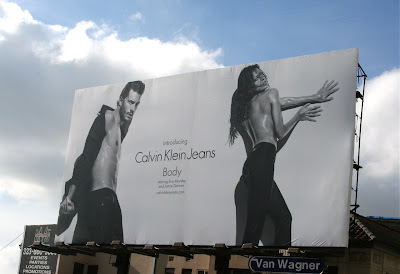Calvin Klein Jeans Body billboard