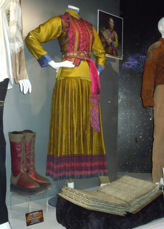 Michelle Yeoh Mummy 3 movie costume