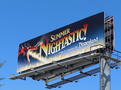 Disneyland Summer Nightastic billboard