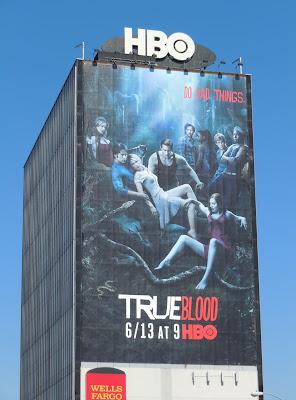 True blood season 3 TV billboard