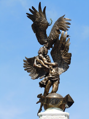 Spirit of Los Angeles angel statue
