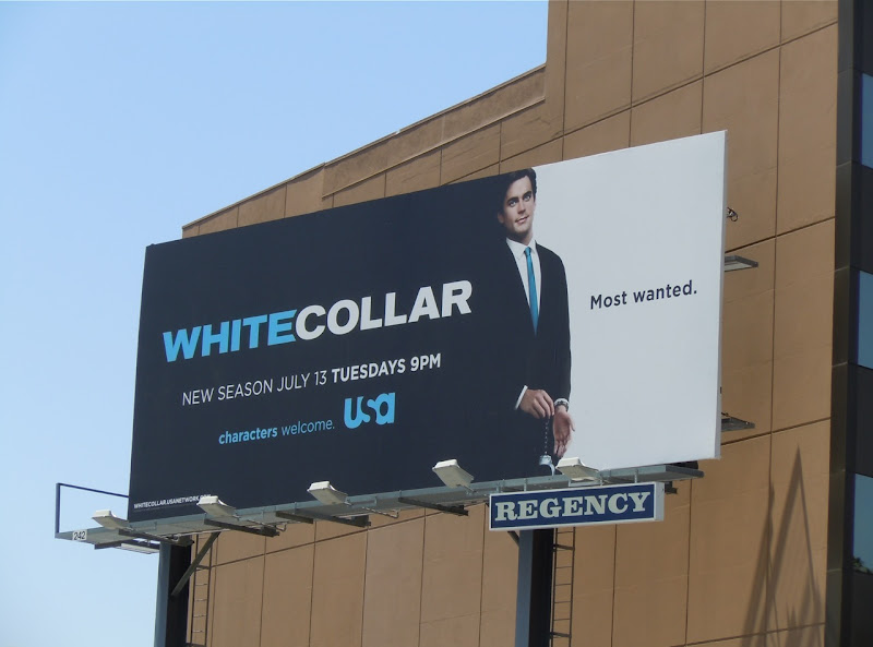 White Collar season 2 TV billboard