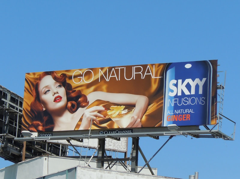 Skyy Infusions Ginger vodka billboard