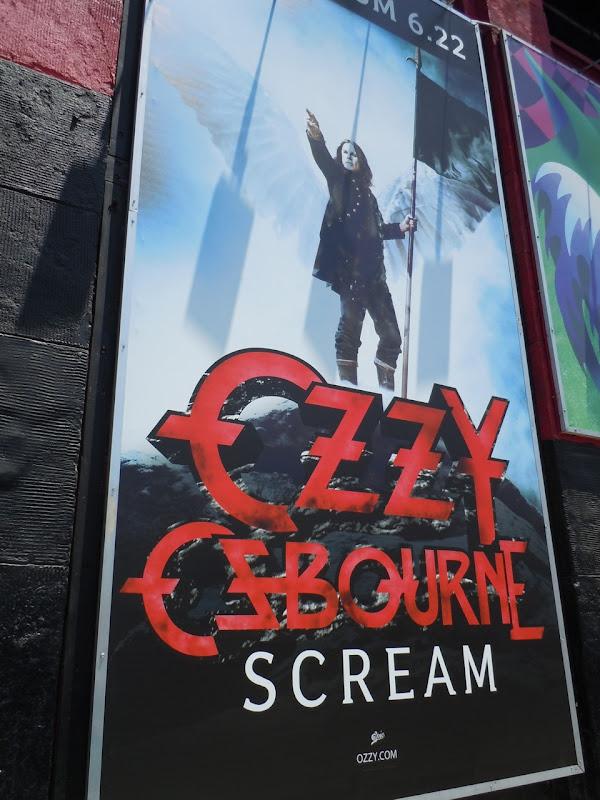 Ozzy Osbourne Scream album poster