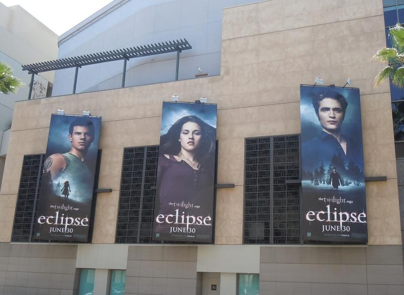 Twilight Eclipse movie billboards