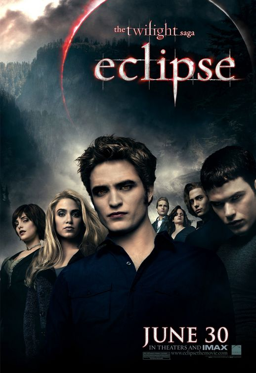 Twilight Eclipse Cullens poster
