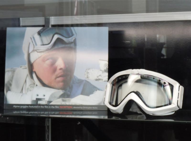 Inception Alpine goggles prop