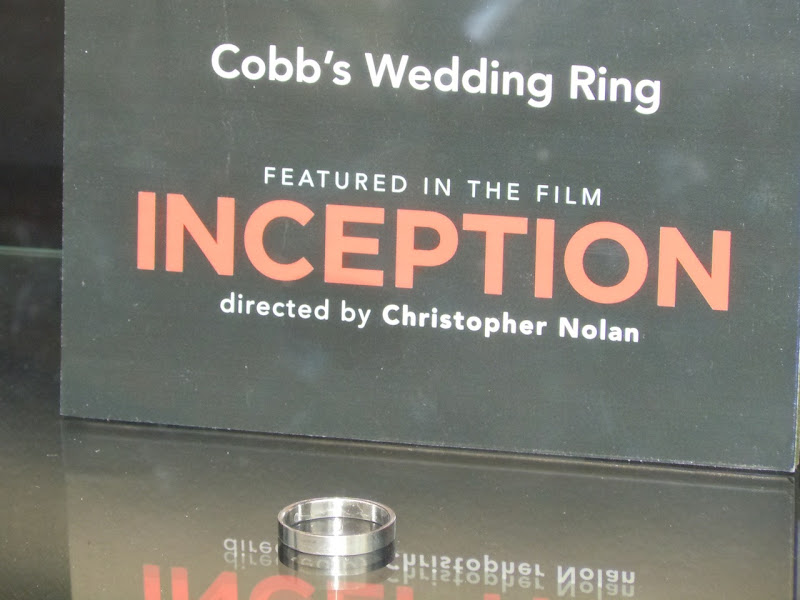 Inception Cobb's wedding ring movie prop