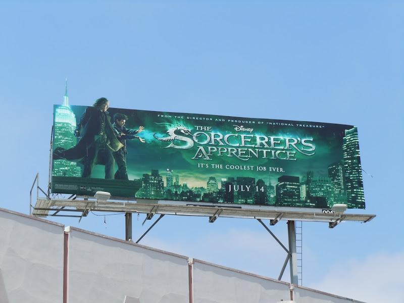 Sorcerer's Apprentice billboard