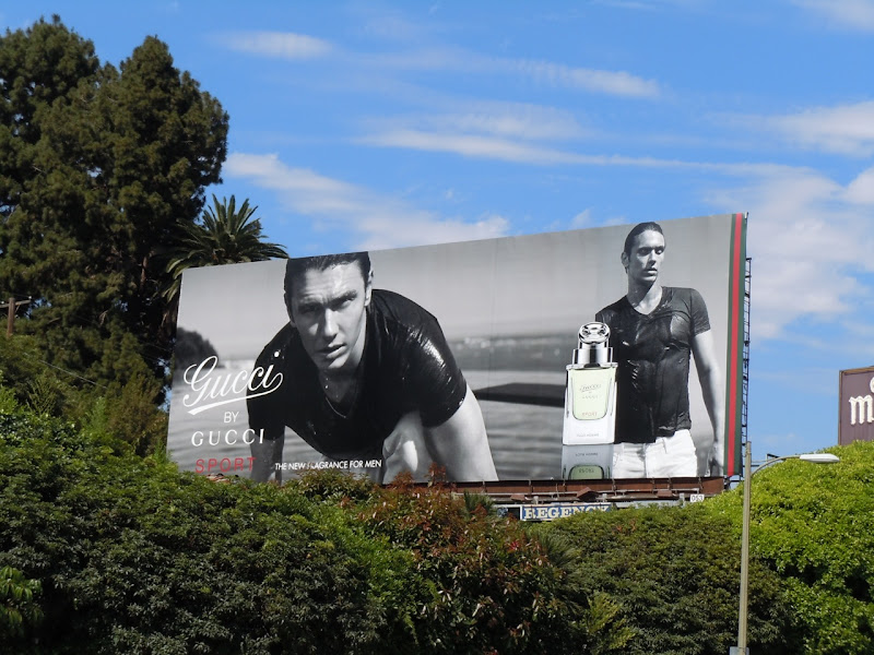 James Franco Gucci billboard