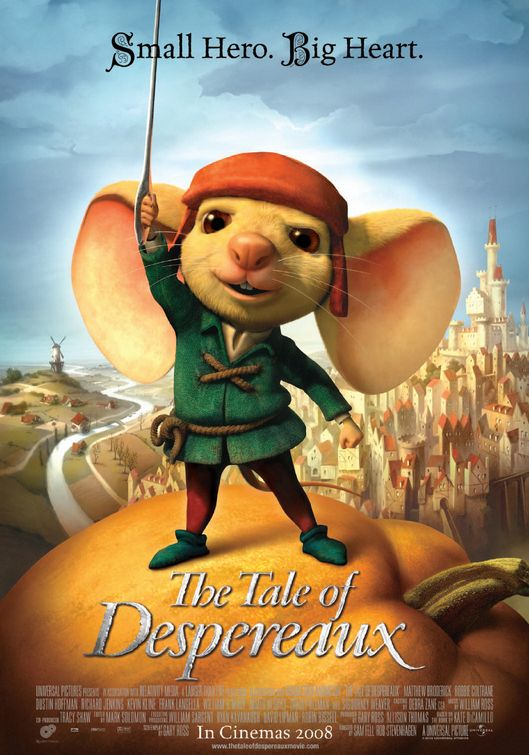 The Tale of Despereaux poster