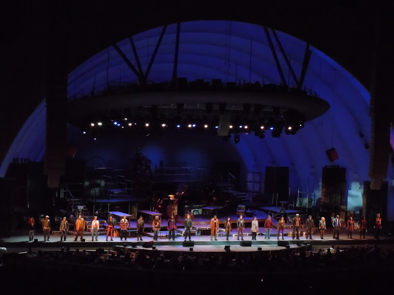 Hollywood Bowl Rent musical 2010