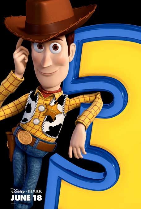 Woody Toy Story 3 poster
